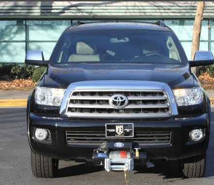Armored Toyota Sequoia Global Lav
