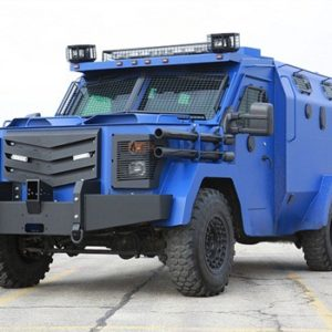 Armored BATT-Blue Vehicle