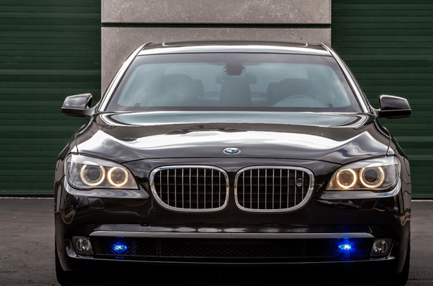Armored bmw for sale