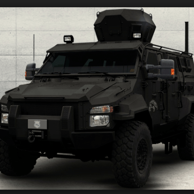 Armored Chevrolet Suburban (SWAT)