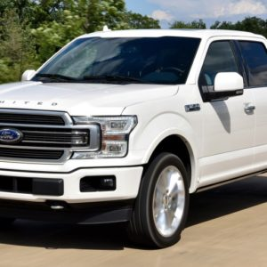 Armored Ford F-Series Vehicle