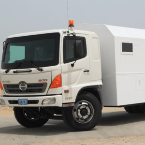 Armored Hino 500 Personnel Carrier