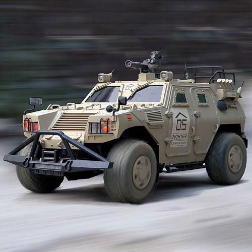 Armored Hummer Military Vehicle