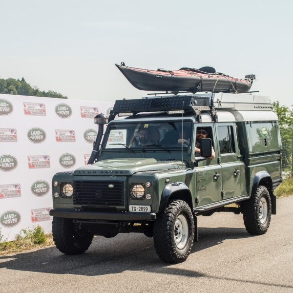 Armored Land Rover Defender