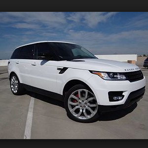Armored Land Rover Range Rover Sport