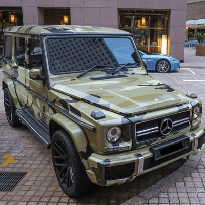 Armored Mercedes Benz G550