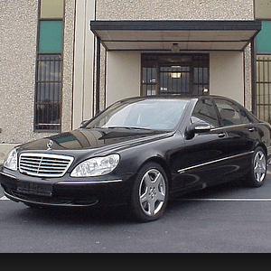 Armored Mercedes Benz S600