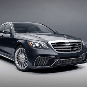 Armored Mercedes-Benz S65 AMG
