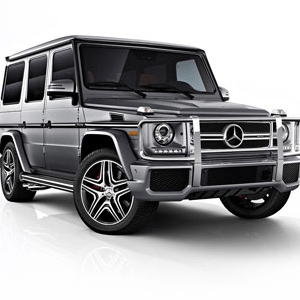 Armored Mercedes G63 AMG
