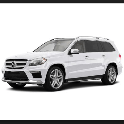 Armored Mercedes GL550