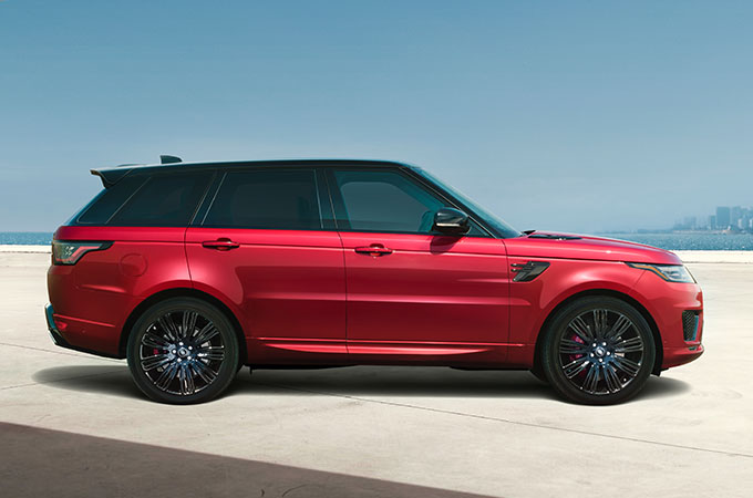 Armored Range Rover Global Lav