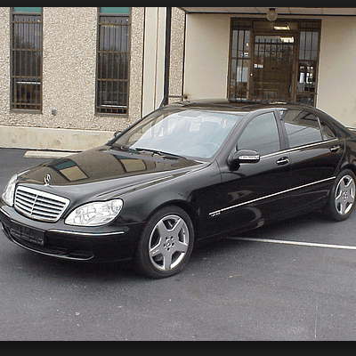 Armored Sedan Mercedes Benz
