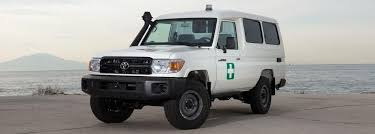 Armored Toyota Land Cruiser 78 Ambulance