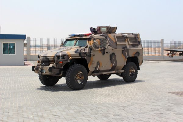 Cougar - Armored Personnel Carrier
