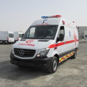 Mercedes Benz ICU Ambulance